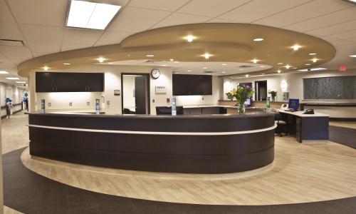 Huron Valley Sinai Hospital Lobby