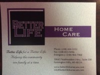Better Life Home Care & Therapeutic Massage