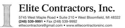 Elite Contractors, Inc.
